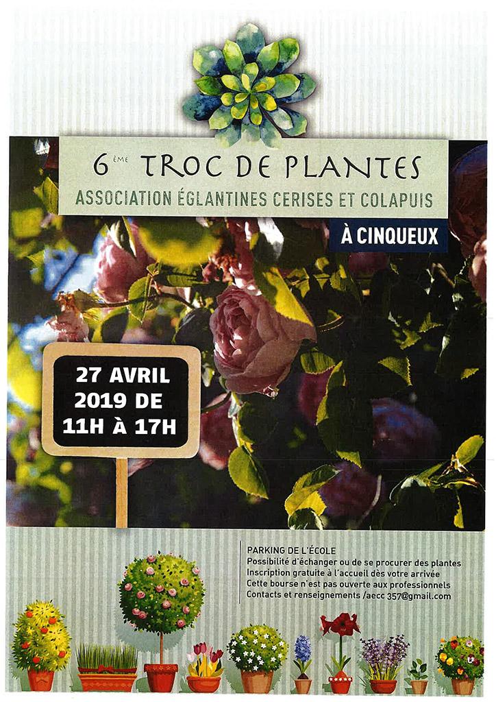 6ème Troc de Plantes Cinqueux
